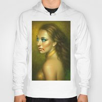 vampire diaries Hoodies featuring Vampire by George Patsouras