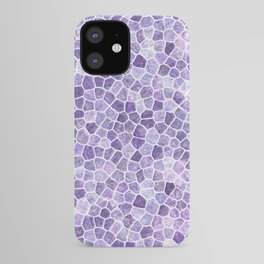 Cobbled Patchwork Terrazo Pattern iPhone Case