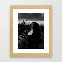 Spanish Dominican, Madrid, 2011 Framed Art Print