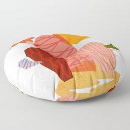Abstraction_Cactus_&_Sun Floor Pillow