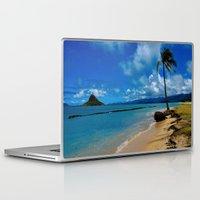 hawaiian Laptop & iPad Skins featuring Hawaiian Dreams by Upperleft Studios