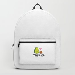 Pregnancy Announcement Avocado Mamacado Backpack