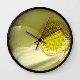Extraordinary Lotus Wall Clock