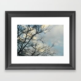 Scarred Skys Framed Art Print