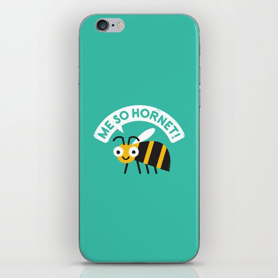 Full Metal Yellow Jacket iPhone & iPod Skin