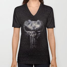 Punisher - Daredevil 2016 Unisex V-Neck