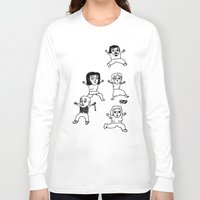 zombies Long Sleeve T-shirts featuring zombies by szajmon / zawar