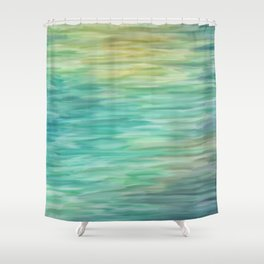 Grunge texture green color Shower Curtain