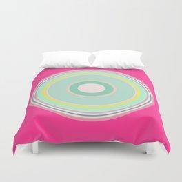 pink magenta circle Duvet Cover