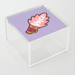 I Have a Voice Acrylic Box