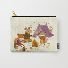 Critters: Fall Camping Carry-All Pouch