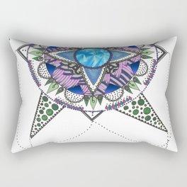 My type of mandala-Corners Rectangular Pillow