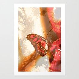 Butterfly in Trance Art Print