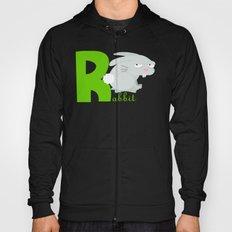 r for rabbit Hoody