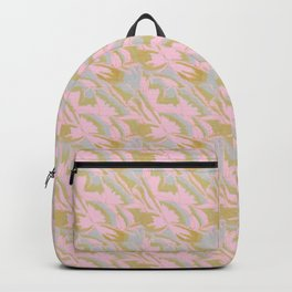 Parrot tulips in pink Backpack