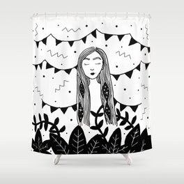 Party for One Shower Curtain