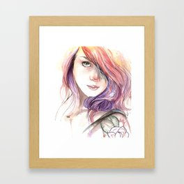 Lass Framed Art Print
