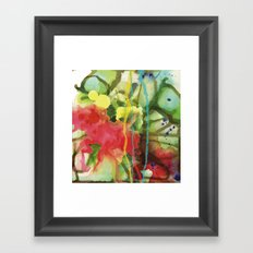 Fruity Splash Framed Art Print