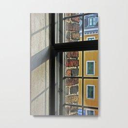 Window view 5 Metal Print