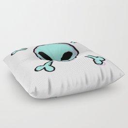 Alien Skull Floor Pillow