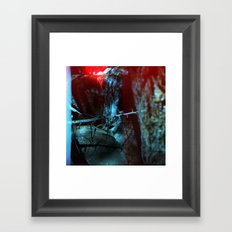If a Tree falls in the forest Framed Art Print