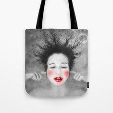 The Noise of the World - MonGhost VIII (V1) Tote Bag