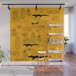 Crocodile Dream Wall Mural