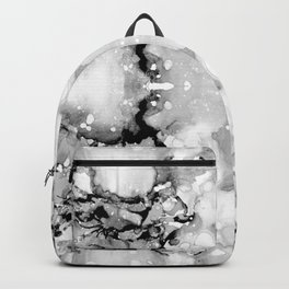 Design 94 abstract grayscale Backpack