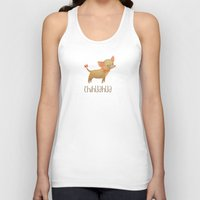 chihuahua Tank Tops featuring Chihuahua by 52 Dogs