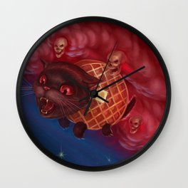 Tac Nayn a.k.a. Waffle Cat Wall Clock