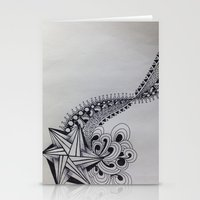 zentangle Stationery Cards featuring Zentangle by glorya