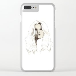 Kate Clear iPhone Case