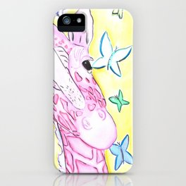 Denae's Giraffe (Commission will be donated to her funeral expenses) iPhone Case