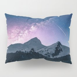 Mountains & Milky Way Pillow Sham