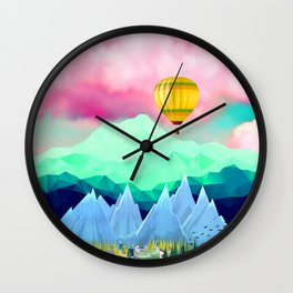 LETS GET HIGH Wall Clock