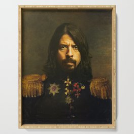 Dave Grohl - replaceface Serving Tray