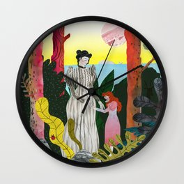 Anne Sullivan and Helen Keller Wall Clock