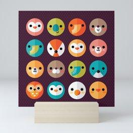 SMILEY FACES Mini Art Print