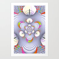 Tholian Web 4 : iPhone & iPod Skins / iPhone Cases / Stationery Cards, Art Print Art Print