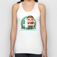 smash bros Tank Tops featuring Villager - Super Smash Bros. by Donkey Inferno