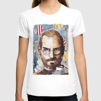 steve jobs T-shirts featuring Steve Jobs by Mariogogh