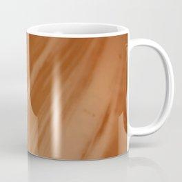 Blurred Sepia Wave Trajectory Coffee Mug
