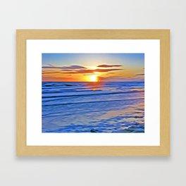 Irish Sea Framed Art Print