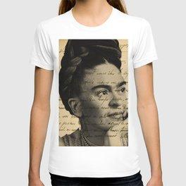 Letter Frida Kahlo T-shirt