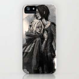 """No matter what, I'm on your side."" iPhone Case"
