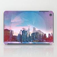manhattan iPad Cases featuring Manhattan by Esco
