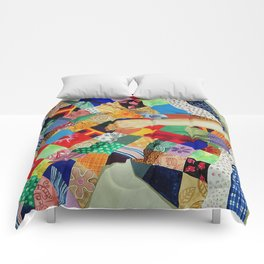 Square Story Comforters