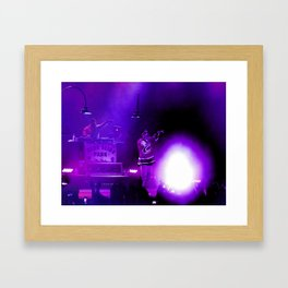 Concert of Purple Framed Art Print