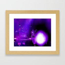 Concert of Purple Framed Art Print