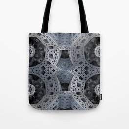 Fractal Art - spaceship drive Tote Bag